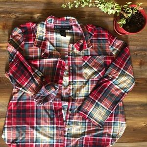 Comfy plaid flannel